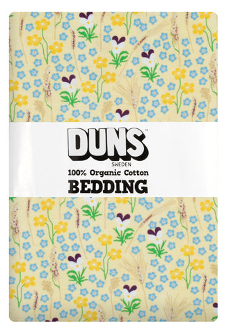 Duns Sweden Bedding Meadow Yellow - Dekbedovertrek Bloemenweide Geel