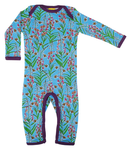 Duns Sweden - Jumpsuit Willowherb Blue Wilgenroosjes