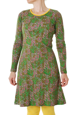 Duns Sweden ADULT Longsleeve Dress Willowherb Olive