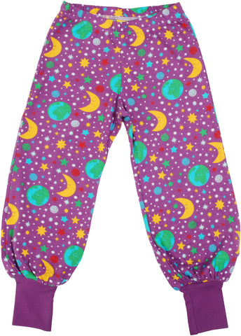 Duns Sweden - Baggy Pants Mother Earth Violet - Lange Pof Broek Moeder Aarde Paars
