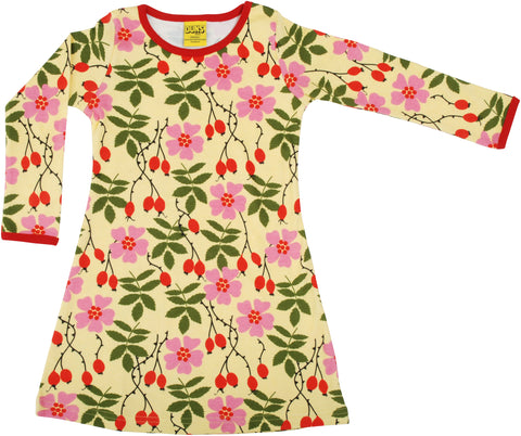 Duns Sweden ADULT - Longsleeve Dress Rosehip