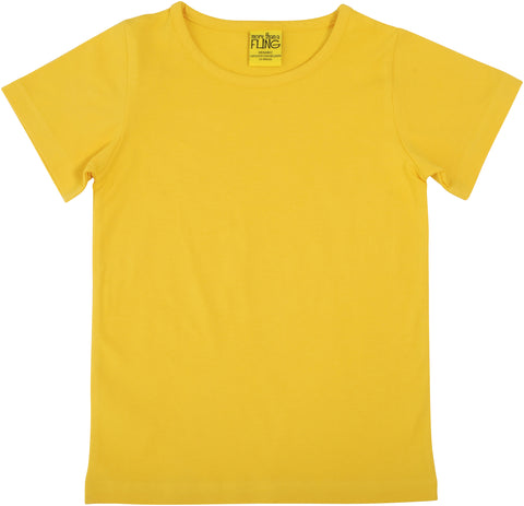 More Than A Fling T Shirt Warm Yellow - Warm Geel