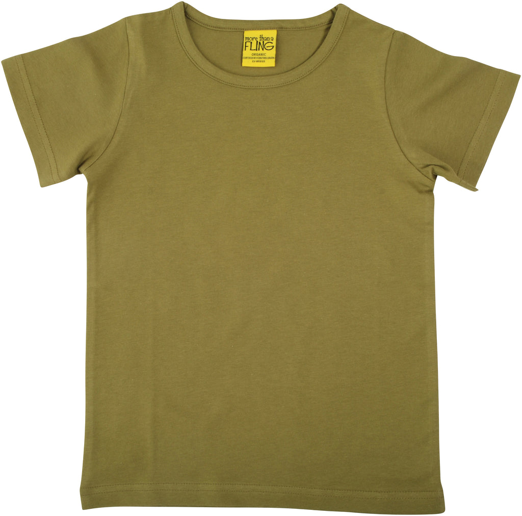 More Than A Fling ADULT - T-Shirt Sage Green