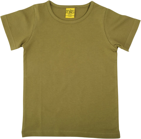 More Than A Fling T Shirt Sage Green - Salie Groen