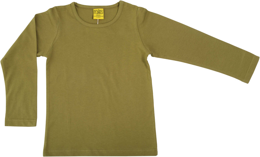 More Than A Fling ADULT - Longsleeve Sage Green - Lange Mouwen Shirt