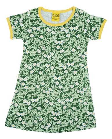 Duns Sweden ADULT - Shortsleeve Dress Wood Anemone Green