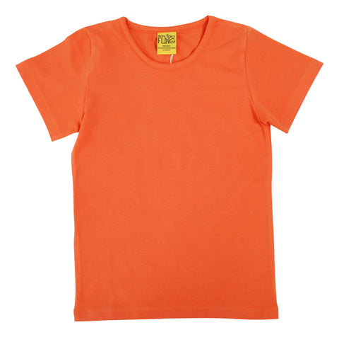 More Than A Fling T Shirt Coral Rose