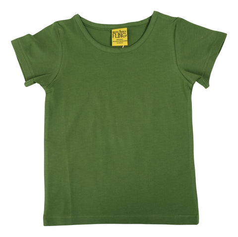 More Than A Fling T Shirt Dill Green - Dille Groen