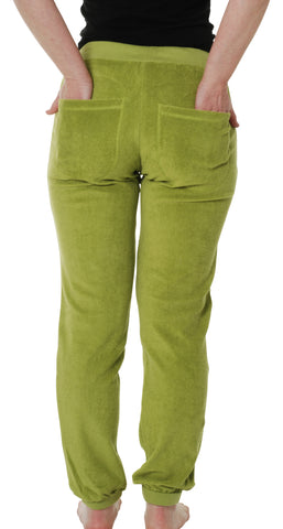Duns Sweden Adult - Terry Pants Spinach Green - Badstof Broek Spinazie Groen