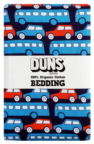 Duns Sweden Bedding 1 person Busses Blue