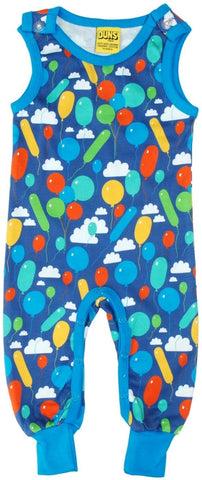 Duns Sweden Playsuit Baloons Blue