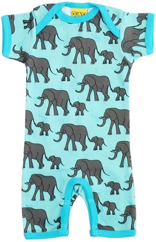 Duns Sweden Summersuit Blue Elephant