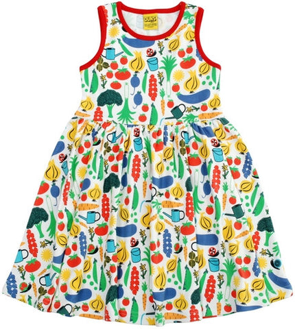 Duns Sweden Dress Sleeveless Garden - Zwierjurk Moestuin