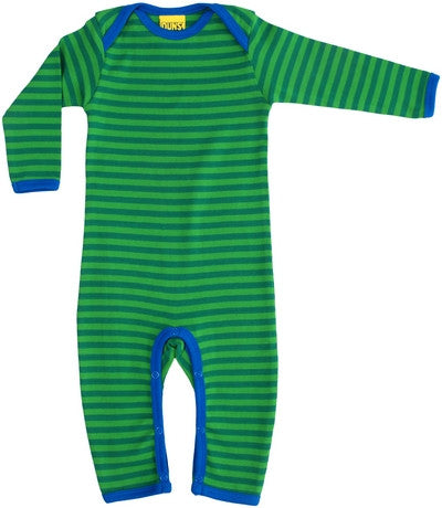 Duns Sweden Jumpsuit Green Striped Gestreept Groen