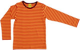 Duns Sweden Longsleeve Red/Yellow Striped - Rood/Geel gestreept