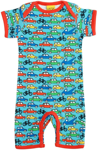 Duns Sweden Summersuit Blue Cars & Bikes