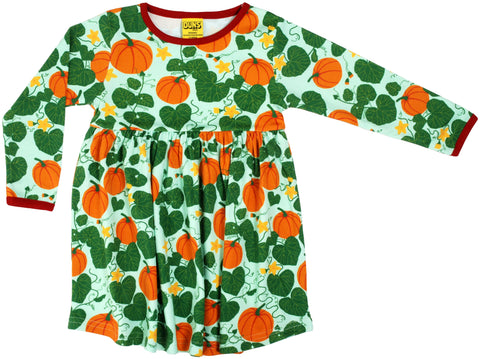Duns Sweden - LADIES Twirl Dress/Zwierjurk Pumpkin Jade DAMES