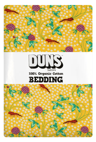 Duns Sweden - Bedding Adult Red Clover - Dekbedovertrek 1 persoons Rode Klaver
