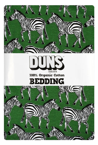 Duns Sweden - Bedding 1 pers. Zebra Green