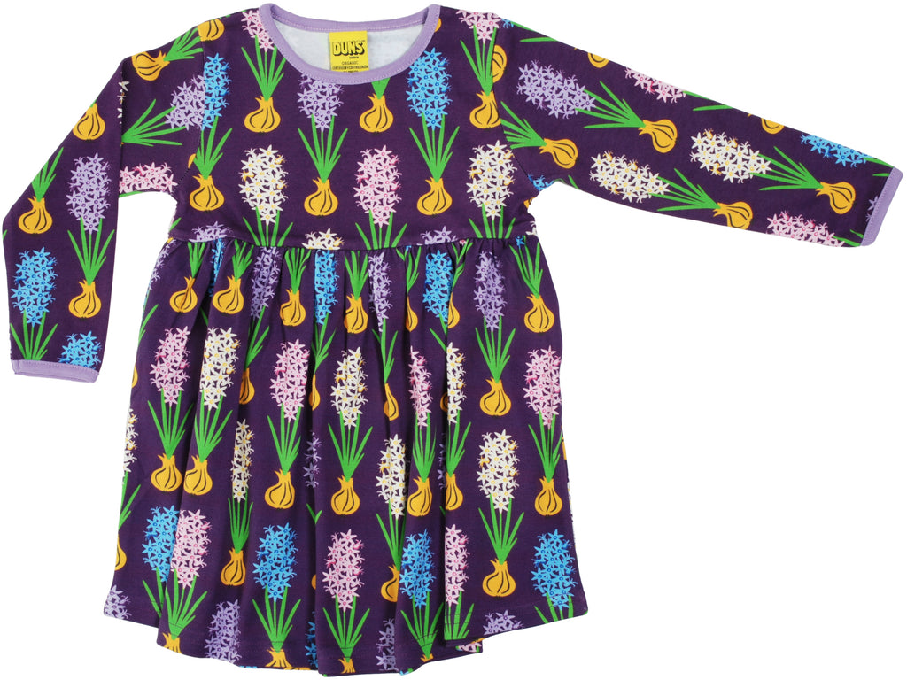 Duns Sweden - Twirl Dress/Zwierjurk Hyacinth Purple - Paars
