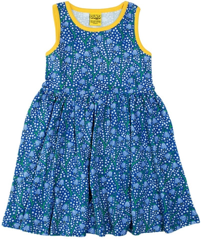 Duns Sweden - Sleeveless Dress BlueBell Blue - Zwierjurk Klokjes Blauw