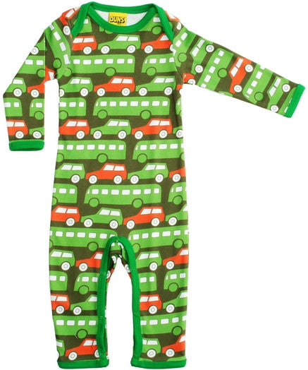 Duns Sweden Jumpsuit Green Busses