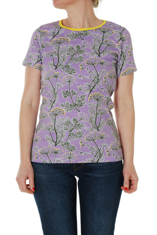 Duns Sweden ADULTS - T-Shirt Dill Violet Dille Lila