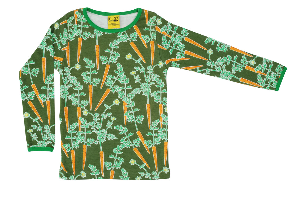 Duns Sweden - Longsleeve Top Carrots - Worteltjes Wortels