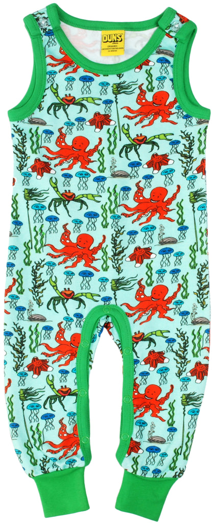 Duns Sweden - Playsuit Octopus Mint