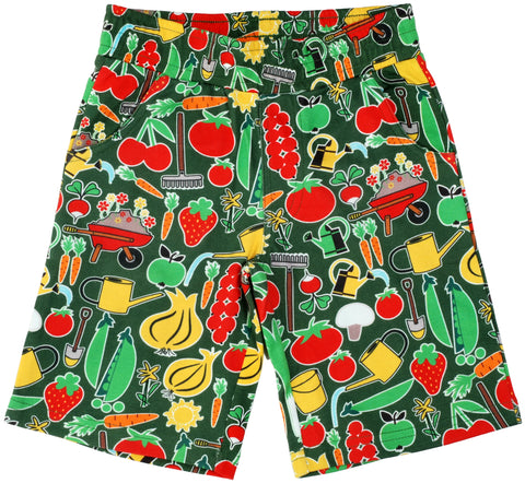 Duns Sweden - Short Pants, knee long lenght Park Life Green