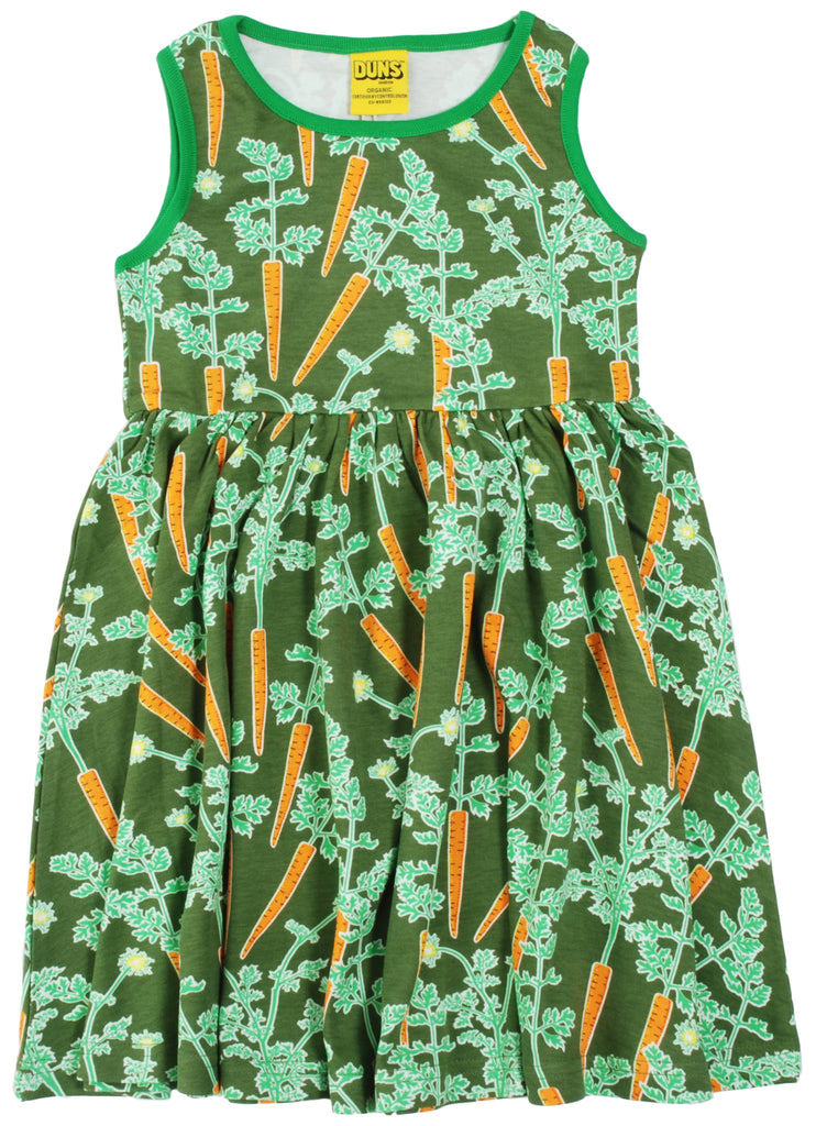 Duns Sweden - Sleeveless Dress Carrots - Zwierjurk Worteltjes