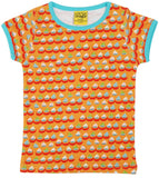 Duns Sweden - T-Shirt Sailing Boats Orange