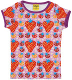 Duns Sweden - T-Shirt Strawberry Fields Light Purple