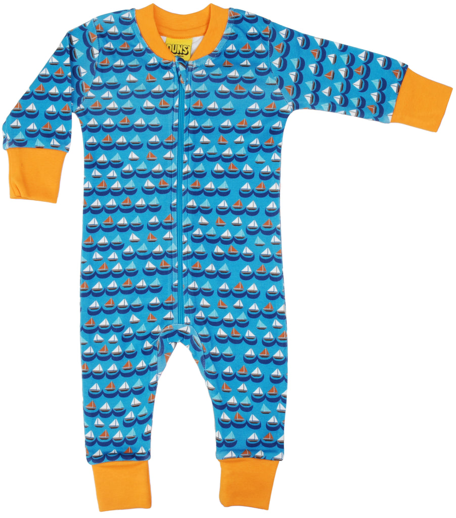 Duns Sweden - Zipsuit Sailing Boats Blue