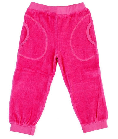Duns Sweden Pants Velours Pink - Velour Broek Roze