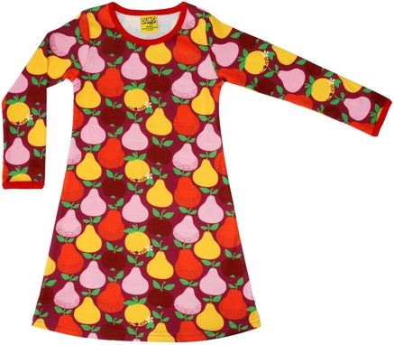Duns Sweden - Longsleeve Dress Fruits Boysenberry - Jurkje Fruit