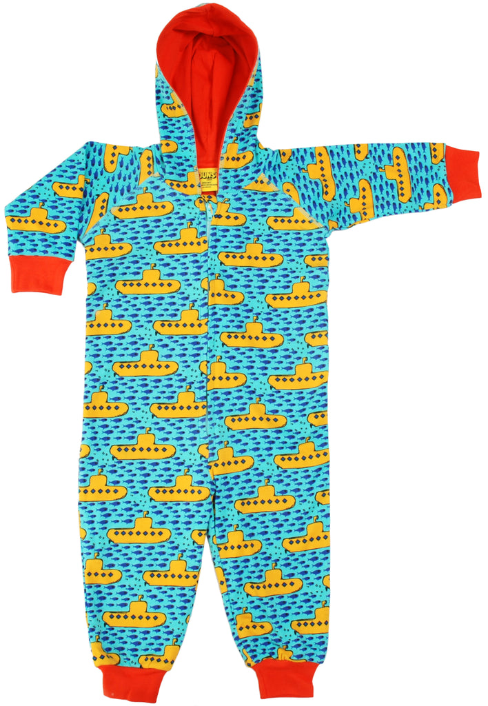 Duns Sweden - Hooded Onesie Yellow Submarine