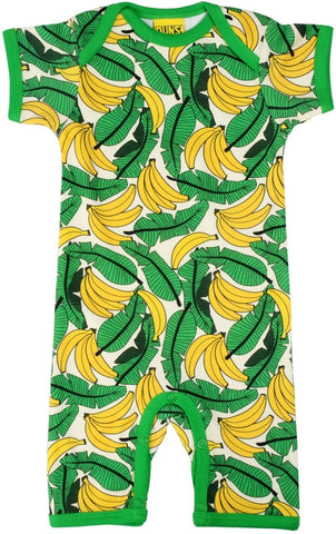 Duns Sweden - Summersuit Bananas Pale Yellow - Bananen Licht Geel