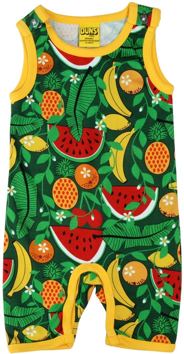 Duns Sweden - Summer Dungaree Tropical Swamp - Playsuit Tropisch Fruit