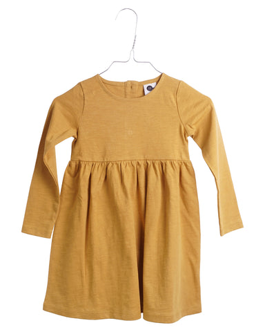 Krutter Dress Edith Mustard - Jurk Mosterd Geel