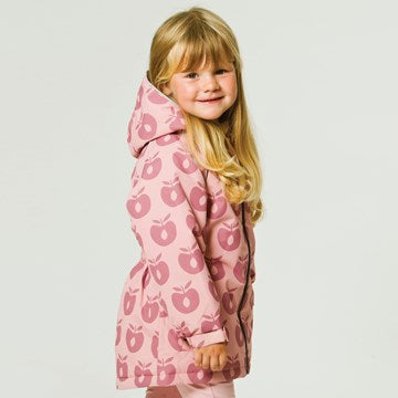 Smafolk Winter Jacket Apples Bridal Rose