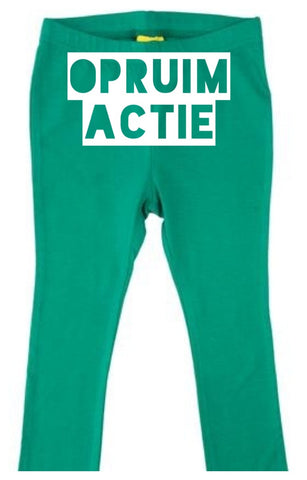 More Than A Fling - Legging Pepper Green