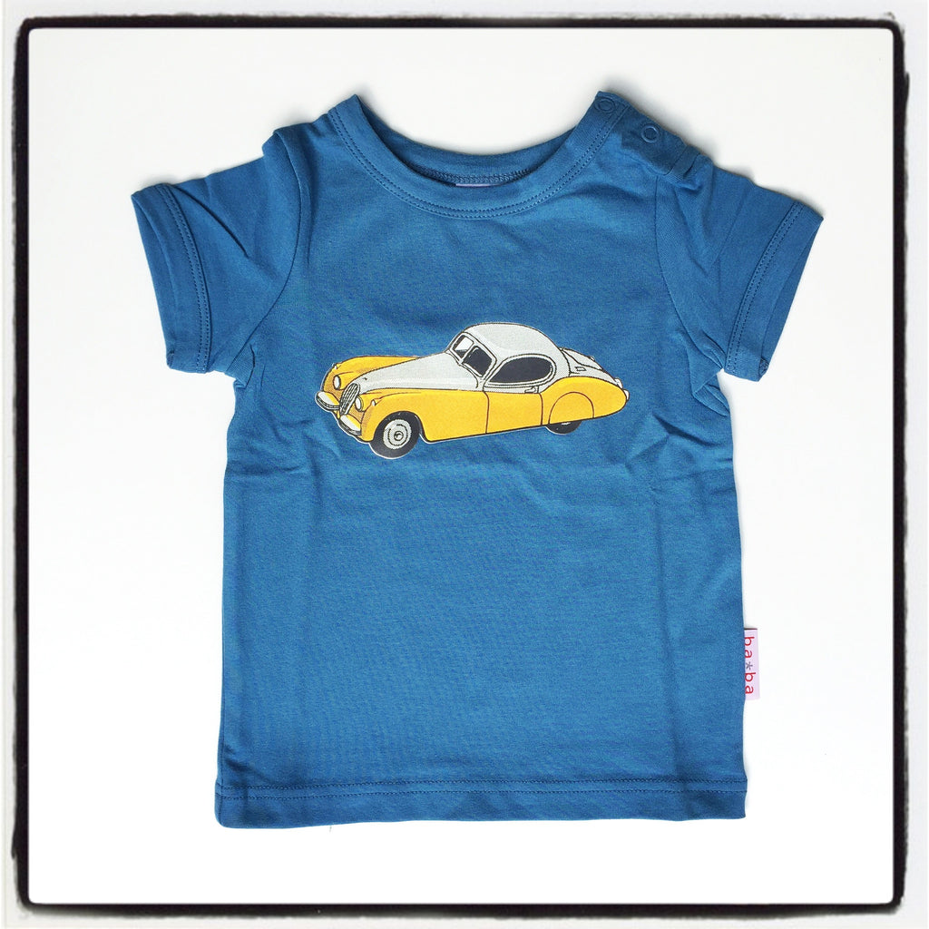 Baba Babywear - T-Shirt Boys Blue Car