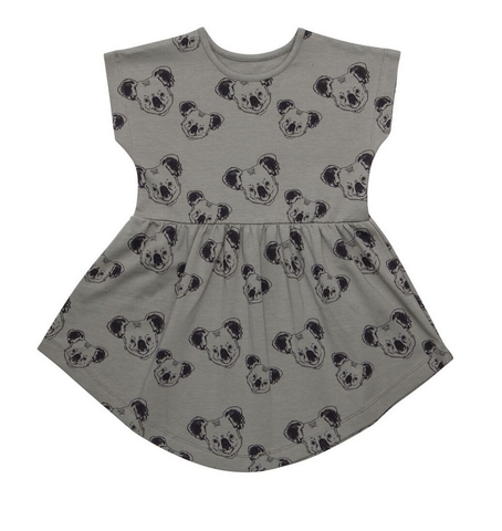 Iglo + Indi Sunna Organic Dress Koala