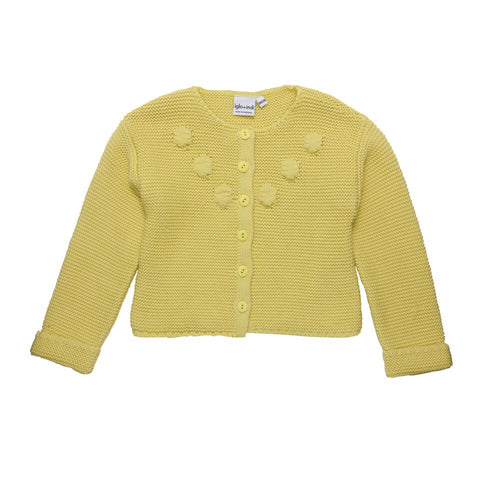 Iglo + Indi Unnur Yellow Knit Cardigan