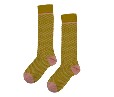 Baba Babywear - Kneesocks Mustard Yellow