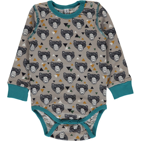 Maxomorra Body Grizzly Bears - Romper Beren