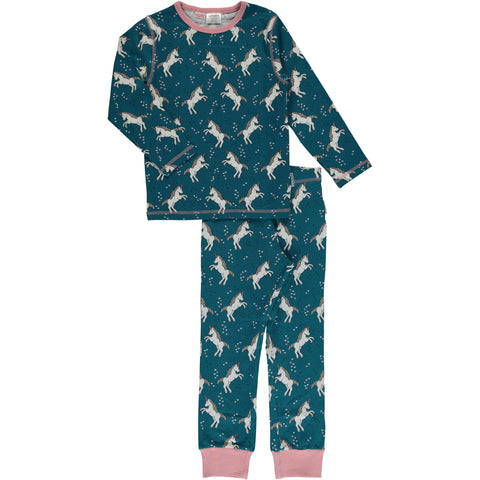Maxomorra Pyjama Set Unicorn Dreams - Pyjama Eenhoorns