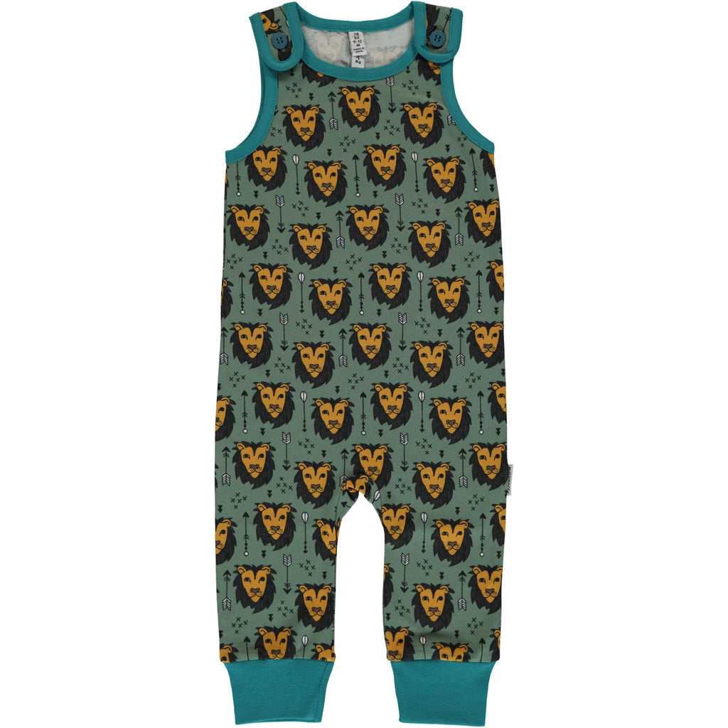 Maxomorra Playsuit Lion Jungle - Playsuit Leeuwen