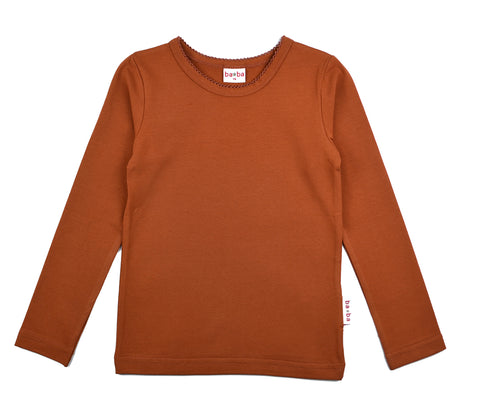 Baba Babywear - Longsleeve Girls Brown